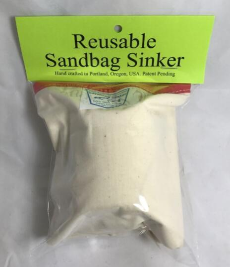 Sandbag Sinker - Reusable Weights & Sinkers Sandbag Sinker Sandbag Sinker with Float