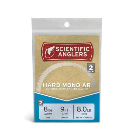 Scientific Anglers HARD MONO AR LEADERS - HARD MONO ABRASION RESISTANT TAPERED LEADERS Leader & Tippet Scientific Anglers