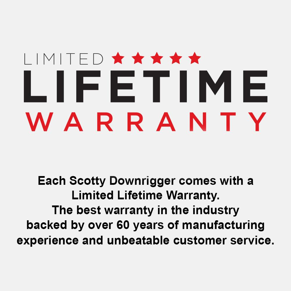 Scotty NO. 1106B DEPTHPOWER DOWNRIGGER WITH BRAIDED LINE (36″-60″) Downriggers & Accessories Scotty