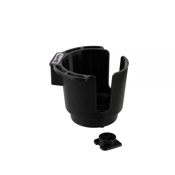 Scotty NO. 310-BK BLACK CUP HOLDER WITH BULKHEAD / GUNNEL MOUNT Downriggers & Accessories Scotty