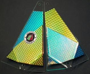 "Shortbus 5.5"" Triangle Flashers Trolling Attraction Shortbus 5.5"" 81 Proof"