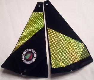 "Shortbus 5.5"" Triangle Flashers Trolling Attraction Shortbus 5.5"" Chaos"