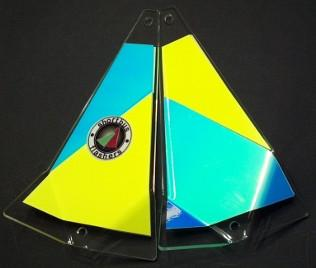 "Shortbus 5.5"" Triangle Flashers Trolling Attraction Shortbus 5.5"" Crazy Cabby"