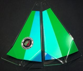 "Shortbus 5.5"" Triangle Flashers Trolling Attraction Shortbus 5.5"" Hangover"