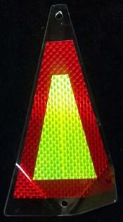 "Shortbus 5.5"" Triangle Flashers Trolling Attraction Shortbus 5.5"" High Yield"