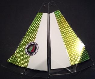 "Shortbus 5.5"" Triangle Flashers Trolling Attraction Shortbus 5.5"" Money Shot"