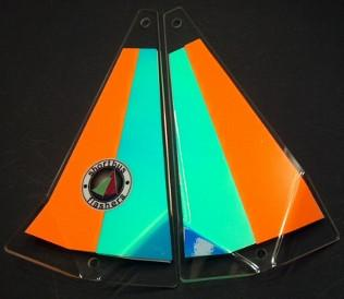 "Shortbus 5.5"" Triangle Flashers Trolling Attraction Shortbus 5.5"" Sunrise"