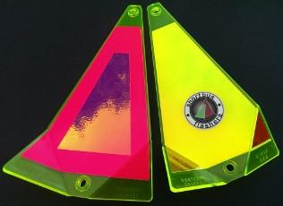 "Shortbus 5.5"" Triangle Flashers Trolling Attraction Shortbus 5.5"" Sweet Abby"