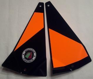 "Shortbus 5.5"" Triangle Flashers Trolling Attraction Shortbus 5.5"" Trick Or Treat"
