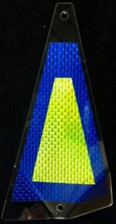 "Shortbus 5.5"" Triangle Flashers Trolling Attraction Shortbus 5.5"" Wet Dreams"