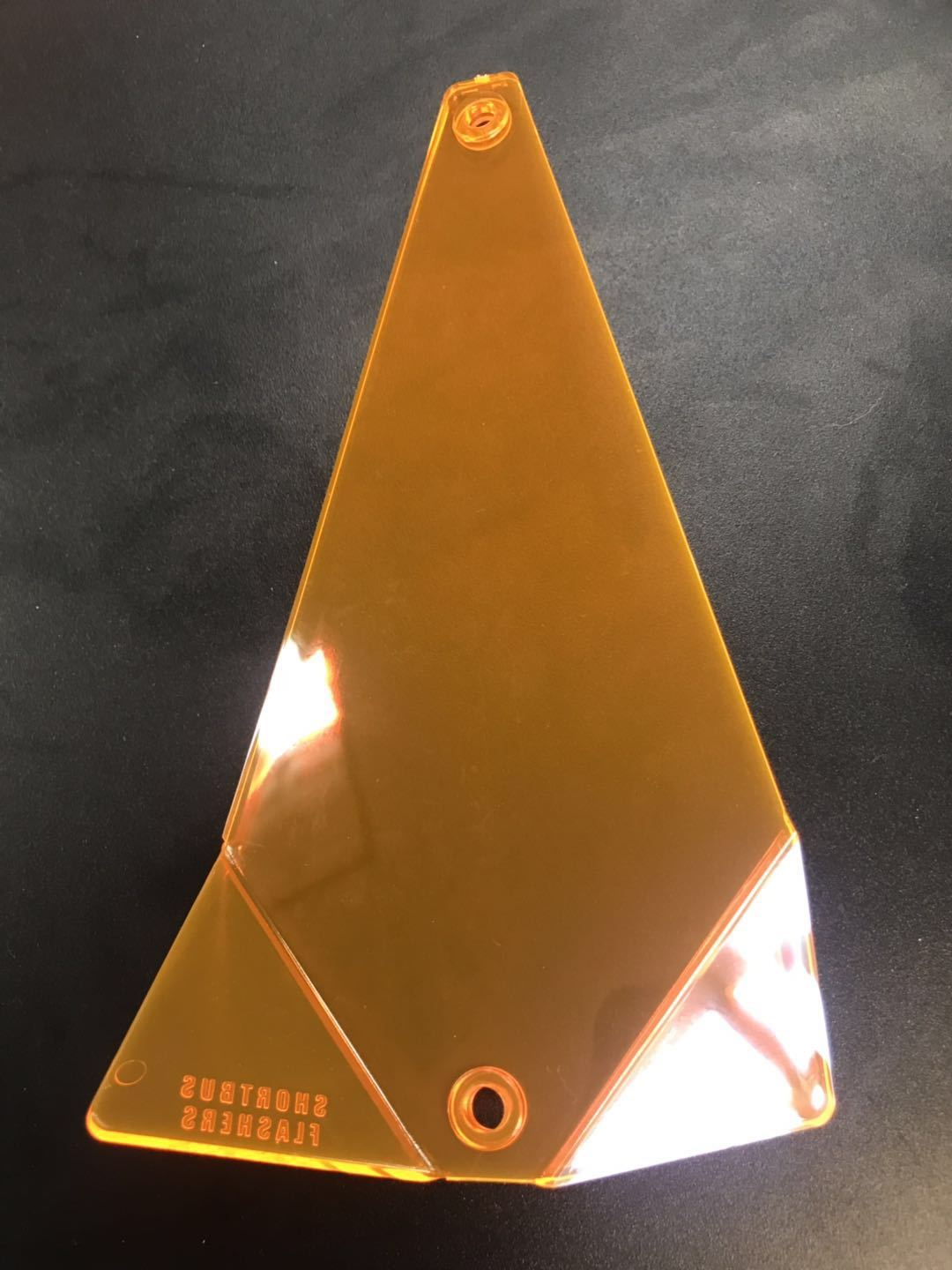 "Shortbus Flasher Blanks 8"" & 11"" Trolling Attraction Shortbus 8"" Triangle Orange"