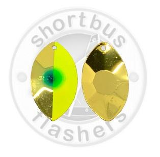 Shortbus Tyee Spinner Blades - NEW Spinners & Blades Shortbus Brass Big O