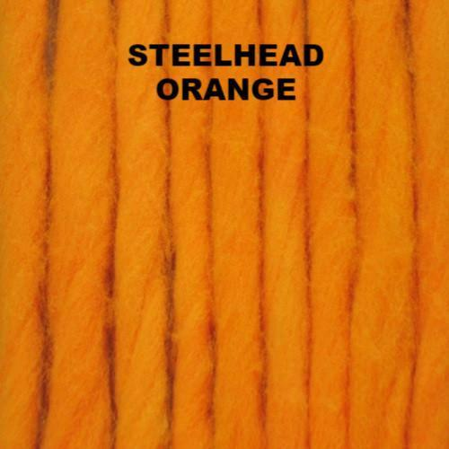 The Bug Shop Glo Bugs Bling 5 Feet Fish-Field Steelhead Orange