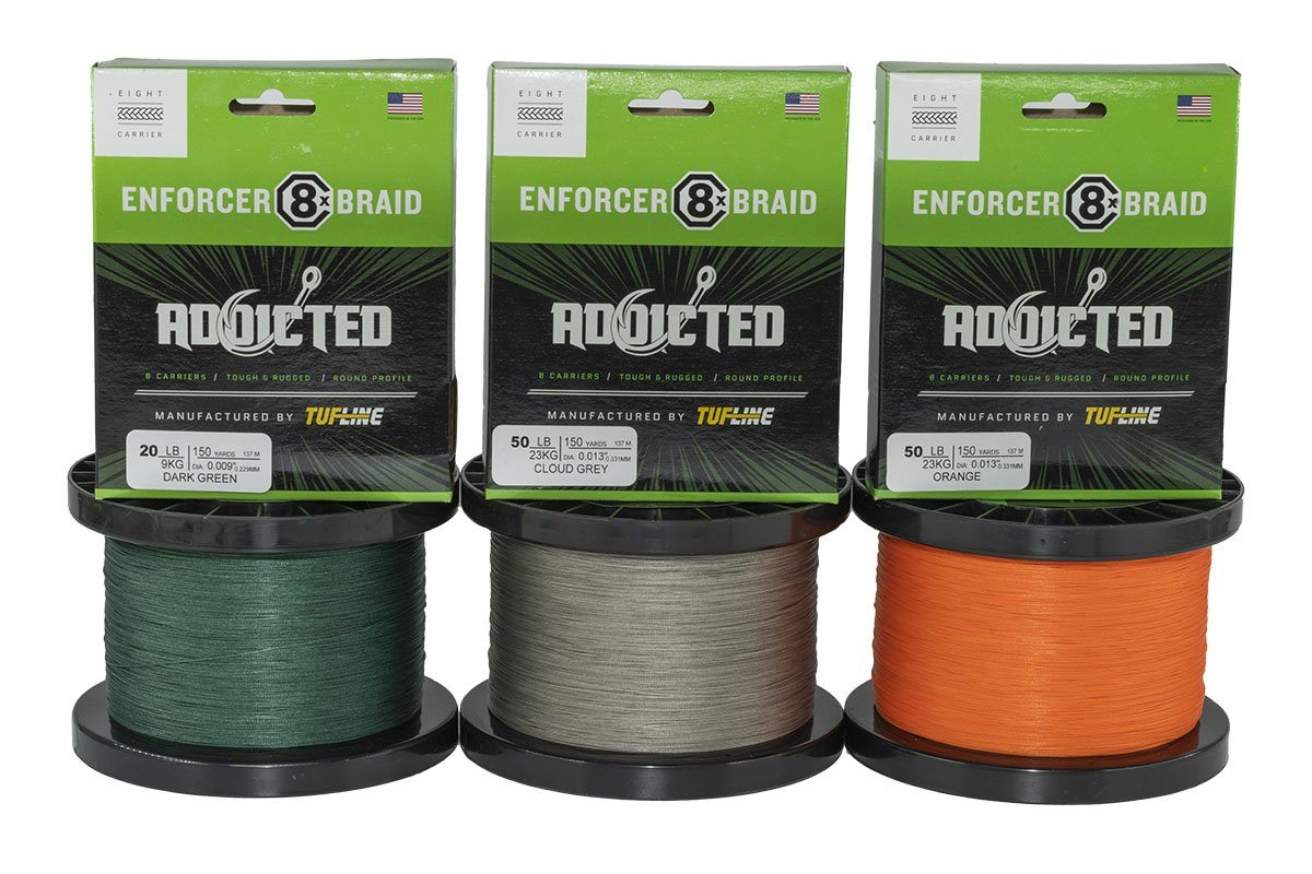 Tuf-Line Addicted Enforcer 8X Braid Line Braid Line Addicted