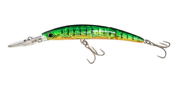 Yo-Zuri CRYSTAL 3D MINNOW™ DEEP DIVER JOINTED Hard Plastick Lures Yo-Zuri Hot Tiger