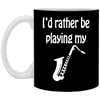 I'd Rather Be Playing My Music Mug