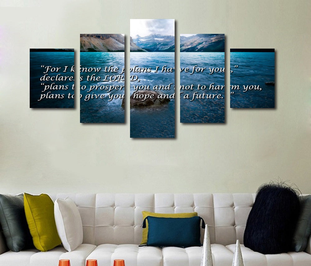 jeremias 29 11 2911 jeremiah For I Know The Plans I Have for you Wall art