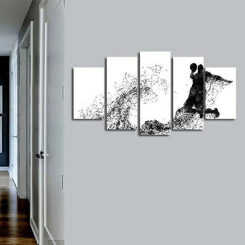 Basketball Wall Art Decal Poster Canvas