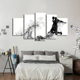 Basketball Wall Art Decal Poster Canvas 3