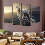 apocalyptic radiation horse wall art canvas