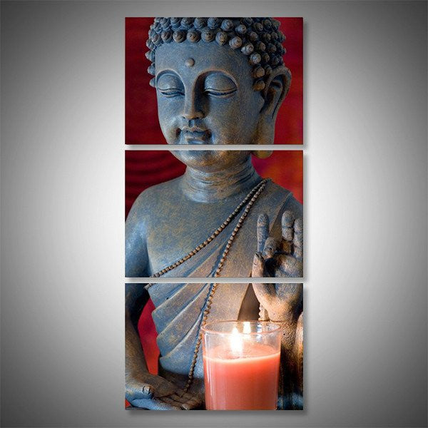 Vitarka Mudra Buddha wall art canvas
