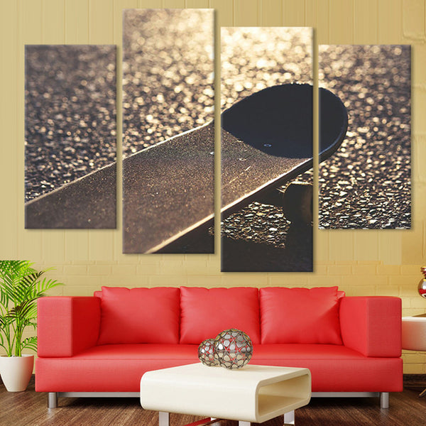 Skateboard Wall Art Multi Panel Canvas painting print poster