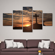 Sunrise from Mount Calvary Golgotha Wall Art Print Poster Decor Canvas 3