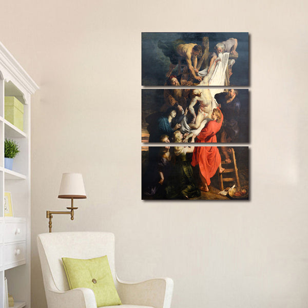 Ruben's Descent from the Cross Wall Art canvas