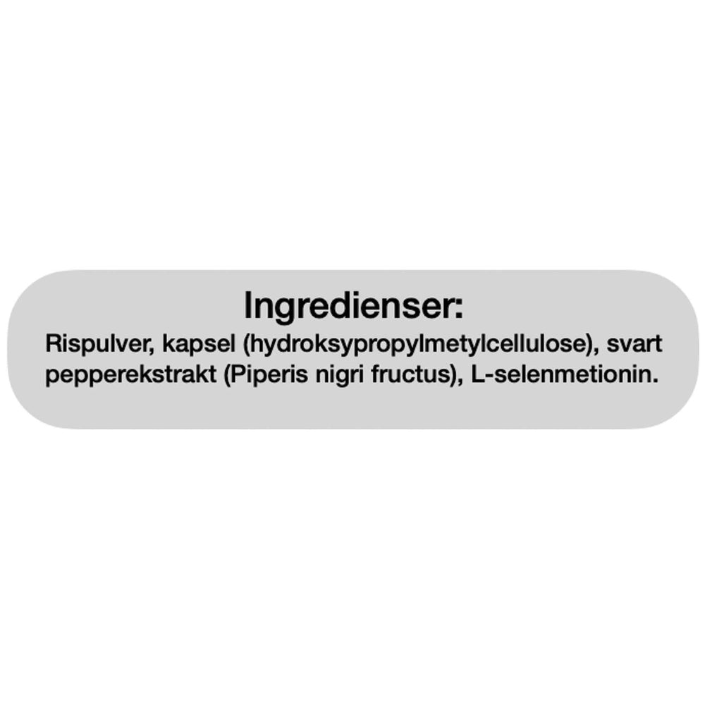 Ingredienser Bio Life Selen