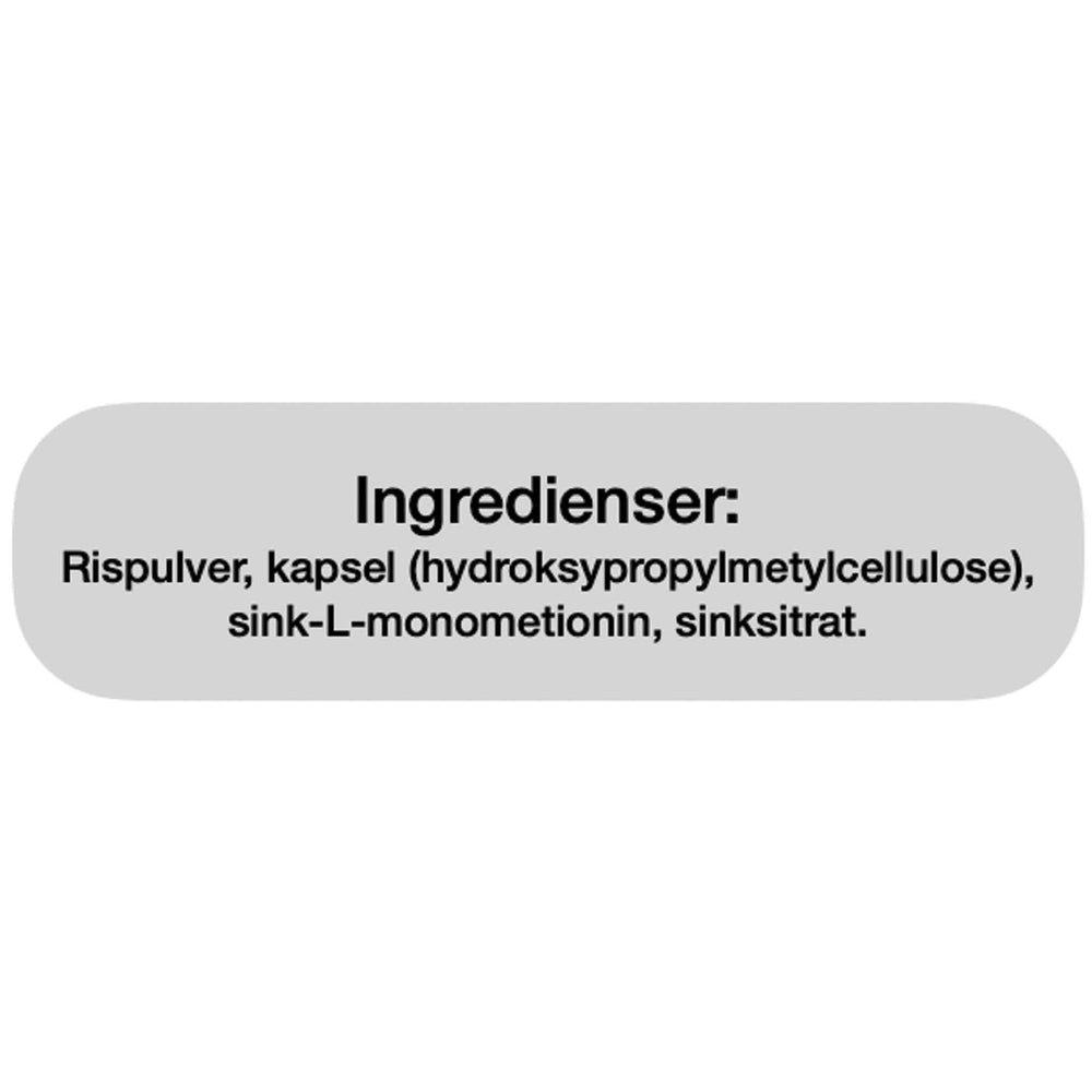 Ingredienser Bio Life Sink