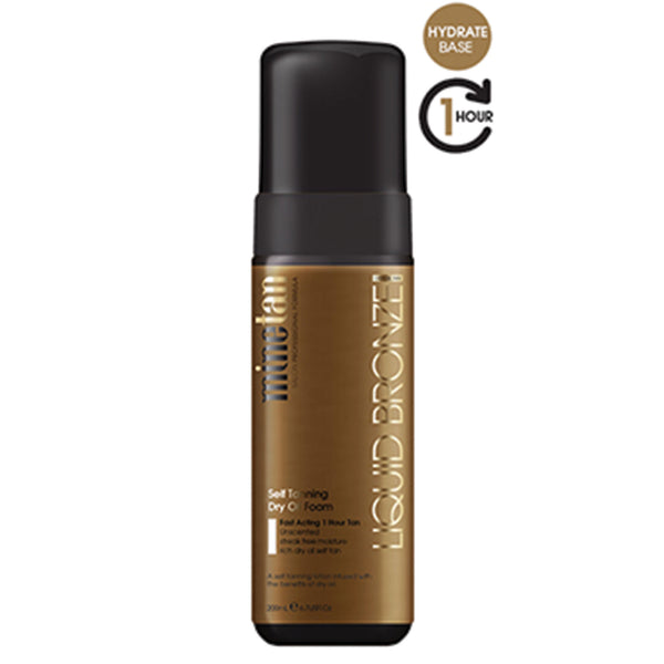 MineTan Norge Liquid Bronze Dry Oil Foam