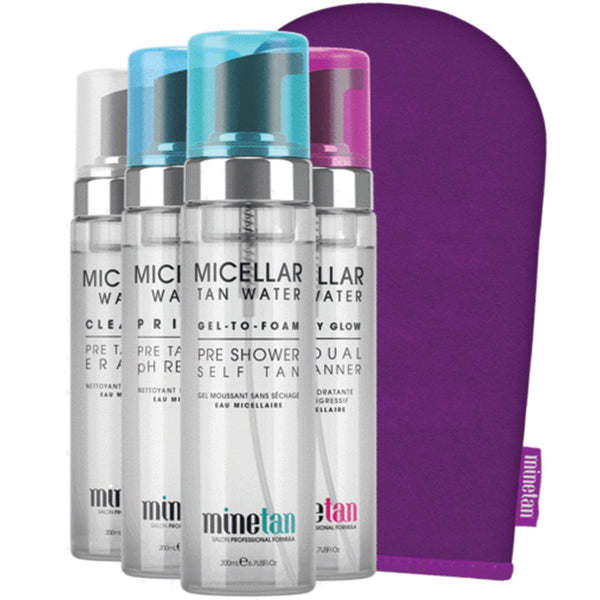 MineTan Norge Micellar Collection Box