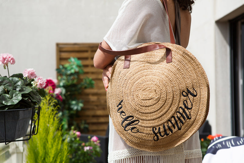 "Sac rond ""Hello summer"""