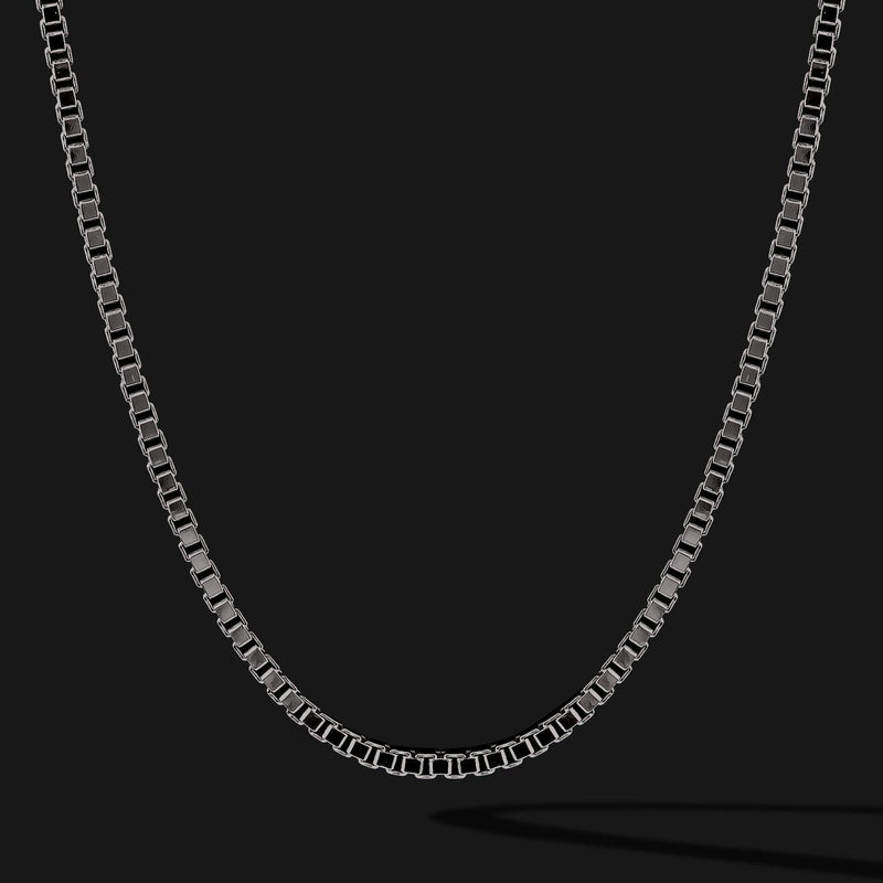 Box Black Gold Chain-Chain-Seekers Luxury-26in - 66cm-Seekers Luxury