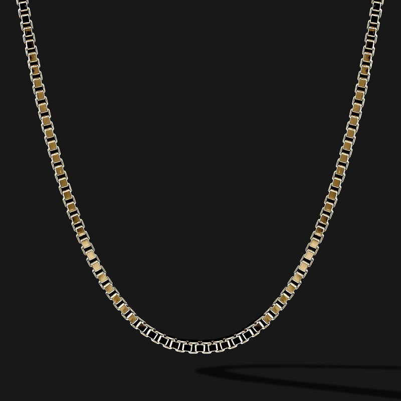 Box Gold Chain-Chain-Seekers Luxury-26in - 66cm-Seekers Luxury