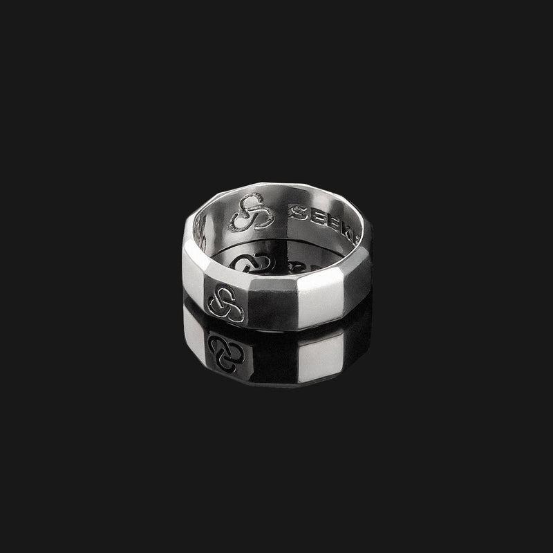Essential Silver Ring-Ring-Seekers Luxury-Seekers Luxury