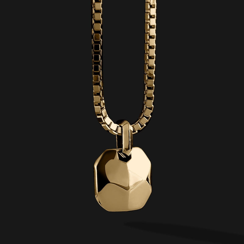 Geom Gold Pendant-Pendant-Seekers Luxury-Seekers Luxury