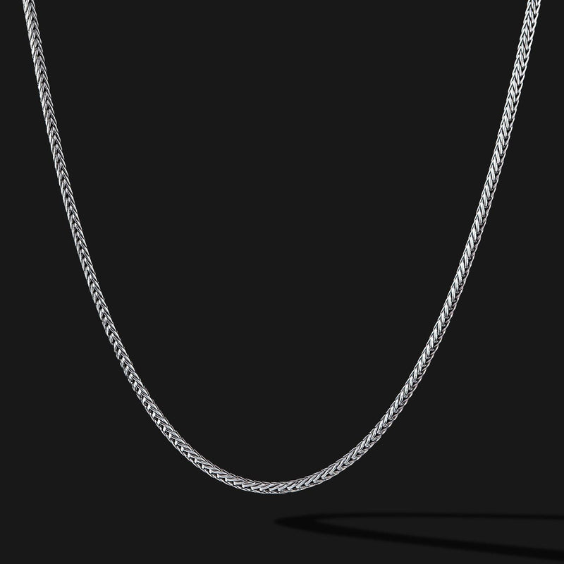 Mole Silver Chain-Chain-Seekers Luxury-26in - 66cm-Seekers Luxury