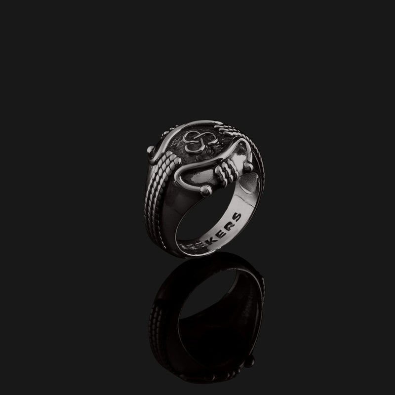 Premium Black Gold Ring-Ring-Seekers Luxury-Seekers Luxury
