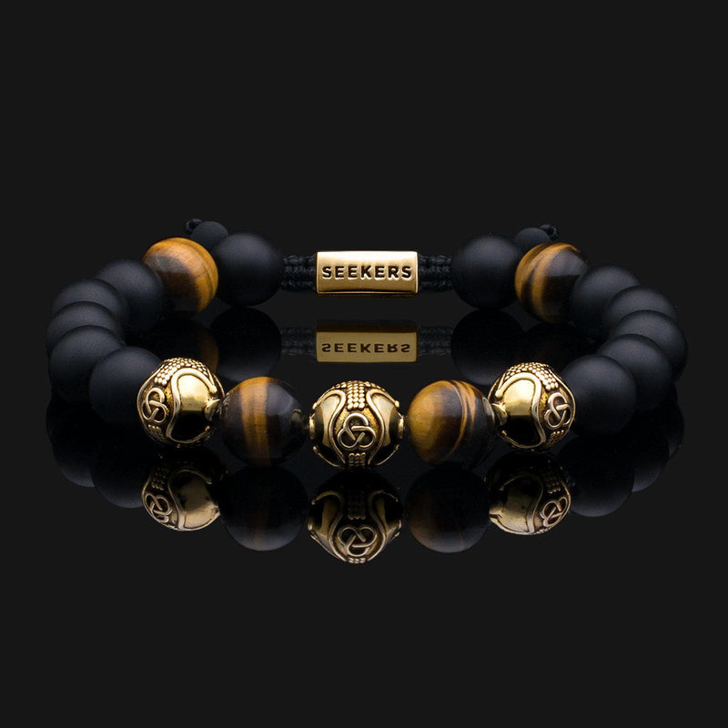 Premium Dragon Gold Bracelet-Beaded Bracelet-Seekers Luxury-Seekers Luxury