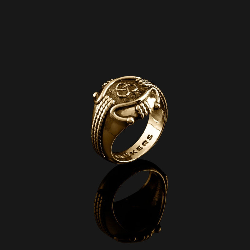 Premium Gold Ring-Ring-Seekers Luxury-Seekers Luxury