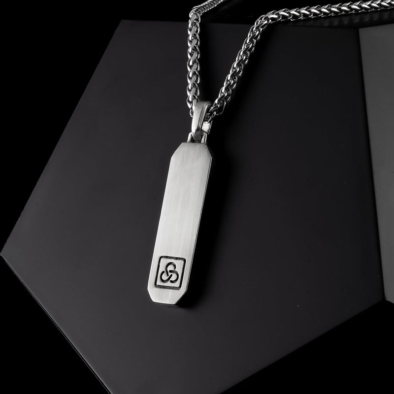 Signature Silver Pendant-Pendant-Seekers Luxury-Seekers Luxury