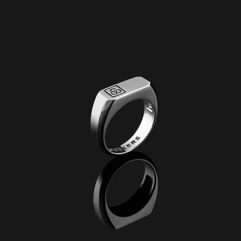 Signature Silver Ring-Ring-Seekers Luxury-Seekers Luxury