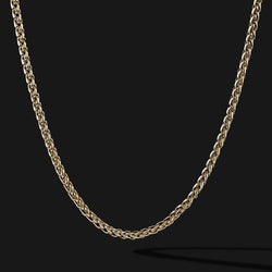 Wheat Gold Chain-Chain-Seekers Luxury-26in - 66cm-Seekers Luxury