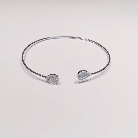 Stunning Tear Drop Bangle