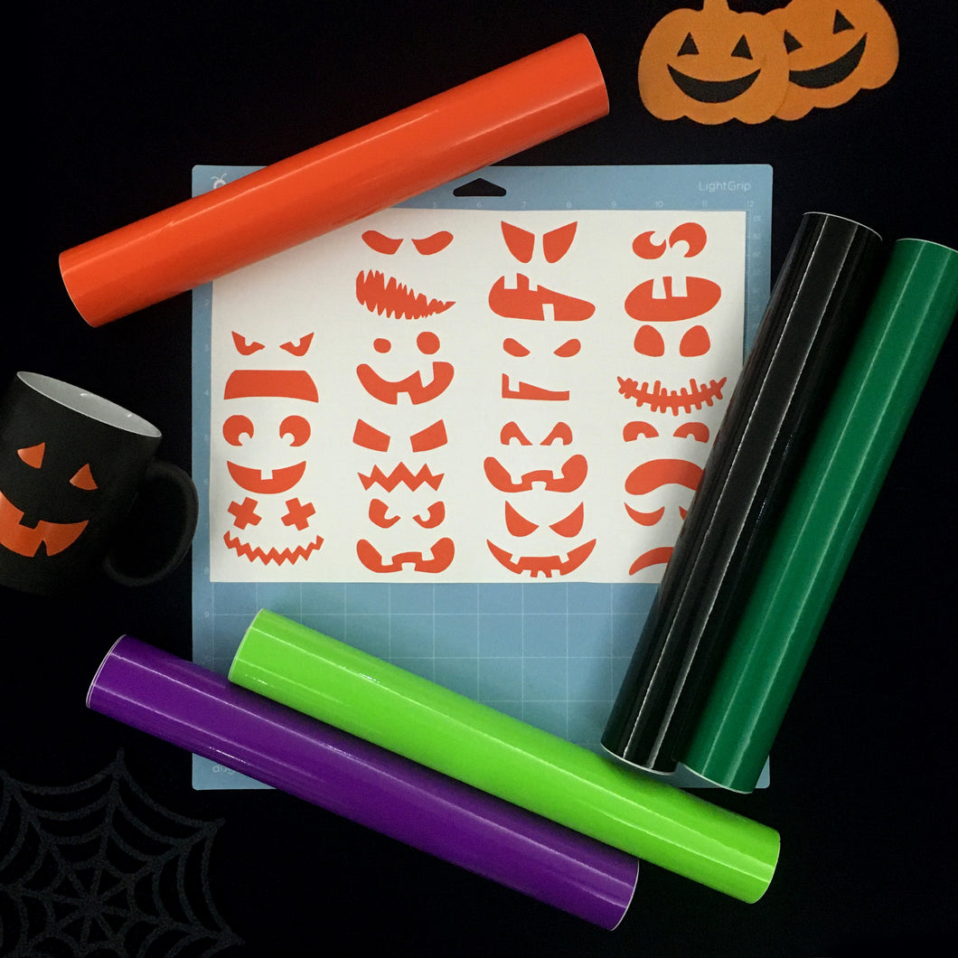 Halloween Craft Vinyl Sticker Bundle