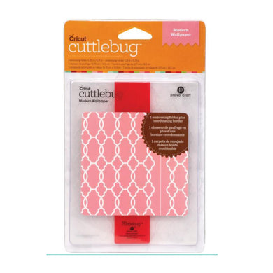 Cuttlebug A2 Embossing Folder, Modern Wallpaper
