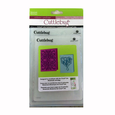Cuttlebug® Embossing Border, Botanicals 2pcs per pack