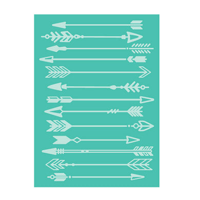 Arrows Embossing Folder