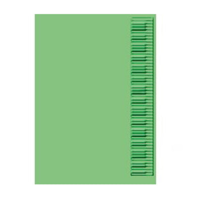 Cuttlebug 5-Inch by 7-Inch Embossing Folder, Keyboard